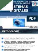 TEMA 01 Introducción a Los Sistemas Digitales