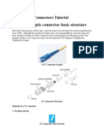 Fiber Optic Connectors Tutorial