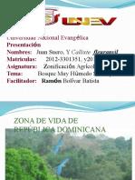 Zona de Vida de República Dominicana