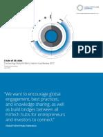 Deloitte Uk Connecting Global Fintech Hub Federation Innotribe Innovate Finance Report