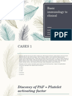 Blok 3.1 Basic Immunology to Clinical