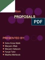 Short Proposals Maryam