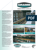 Acoustic Fencing and Barriers - Gramm Barriers UK