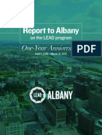 2017 Albany LEAD First Year Report