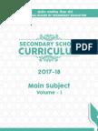 Secondary School 2017-18 Volume 1