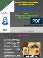 Explosivos y Seguridad en La Voladura