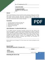 Tugas SPT Badan PT LLD - Sept 2016