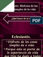 Eclesiastés IBE Callao # 4