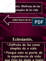Eclesiastés IBE Callao # 10