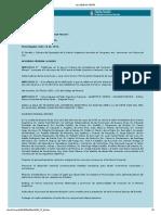Ley Nacional N° 24.228 - ACUERDO FEDERAL MINERO