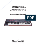 Prophet 6 manual