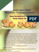 1.Perkembangan Public Relations