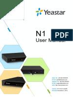 Yeastar N1 Telephone System User Manual En