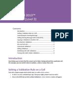Cell Validation