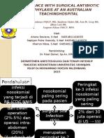 Kepatuhan Pemberian Antibiotik Profilaksis Pada Pembedahan Di Rs