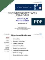 1e5 Glass Structures l5 Me Glued Connection