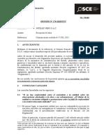 solicitud OSCE