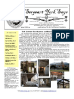 Sergeant York Says Newsletter (Spring 2010)