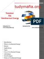 Geothermal Energy PPT