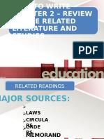Related Studies