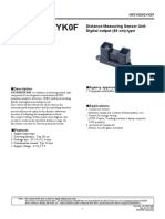 Sensor Prox 80cm
