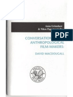 Conversations With Anthropological Film-makers David Macdougall