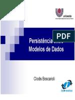 Persistência Entre Modelos de Dados