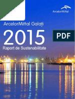 ArcelorMittal Raport Romania