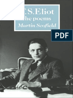 [Martin Scofield] T. S. Eliot the Poems