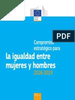 La Igualdad Entre Mujeres y Hombres 2016-2019