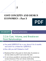 Chapter 2-3 Cost Concepts and Design Economics