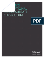 IB Curriculum 2nd2