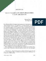 Miño-Algo sobre los historiadores y os archivos-SHH9.25 M-98.pdf