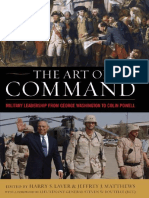 The Art of Command_ Military Leadership From George Washington to Colin Powell - Harry S. Laver