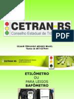 Apresentação de Etilometro Dilmar Pronta