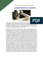 100 Años Del Nacimiento de Francis a. Schaeffer