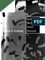 Qualitative Methods in Social Research-esterbeg