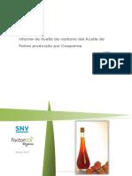 Huella de Carbono Proceso Extraccion de Palma