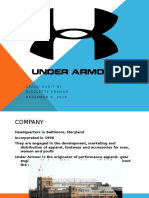under armour brand audit
