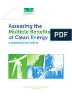 Assessing the Multiple Benefits of Clean Energy Full Report