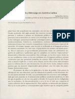 Populismo, pueblo y liderazgo en América Latina