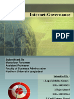 Internet Governance Presentation