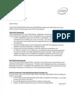 Intel Employee Report Sandoval County