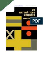 Veinte Matematicos Celebres - Francisco Vera