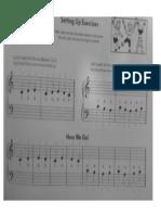Primer Leccion de Piano