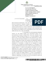 La Justicia decidió entregar maquinaria de López a Vialidad Nacional