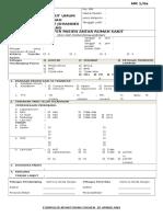Form Transfer Pasien Antar Rumah Sakit