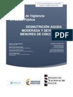 PRO Desnutricion en Menores de Cinco Años 2017