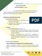 Nota Técnica UPAS Portaria 10