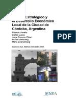 Plan Estratégico de Desarrollo Local. Publicación SIMPA